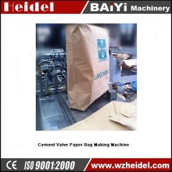 Cement Valve Paper Bag Making Machine